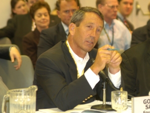 the poet mark sanford