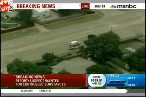 msnbc and high speed chases